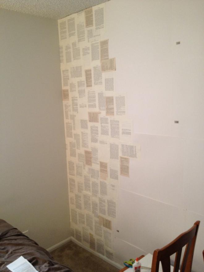 book wall half way 2