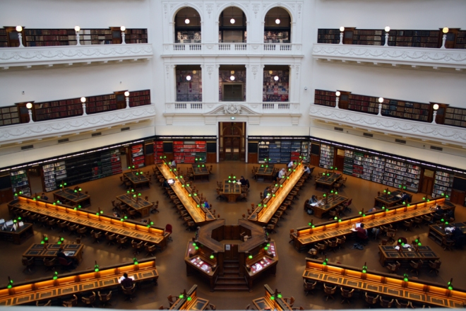 library_upper-view