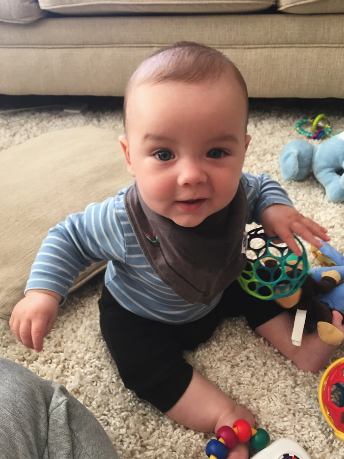 Toys For 6 Month Old Baby Boy : Month check in according to brie